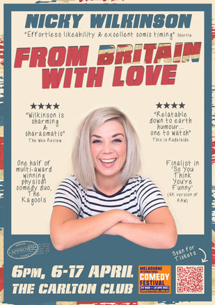 Nicky Wilkinson: From Britain With Love