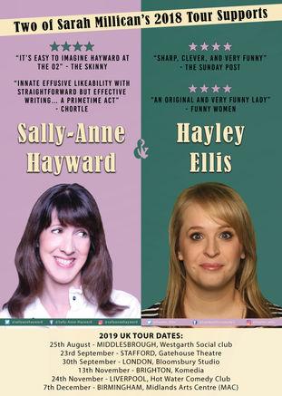 Sally-Anne Hayward and Hayley Ellis Tour