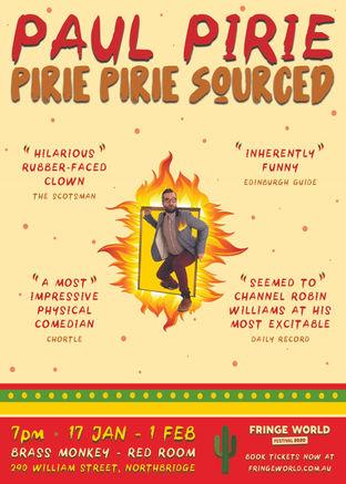 Paul Pirie: Pirie Pirie Sourced