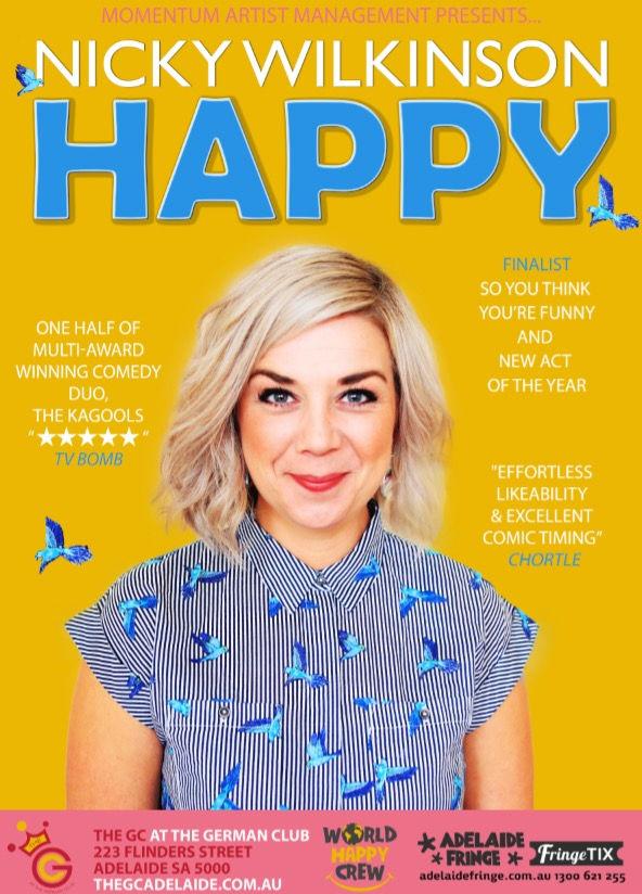 Nicky Wilkinson: Happy