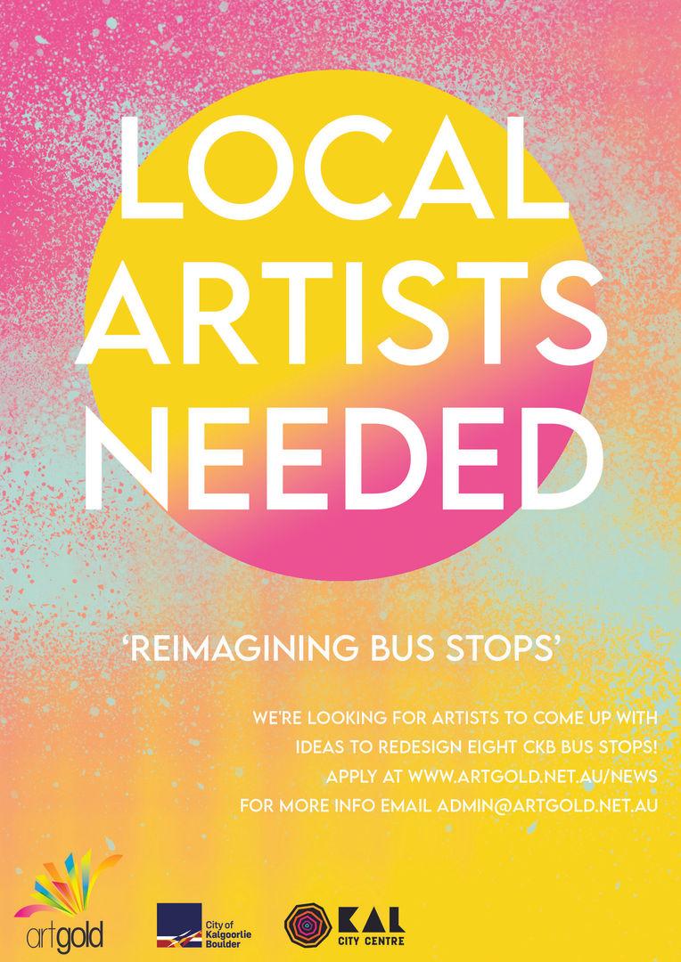 Artgold: Reimagining Bus Stops