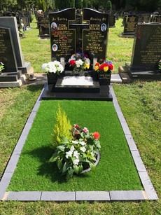 Memorial Head Stone & Kerb Stones