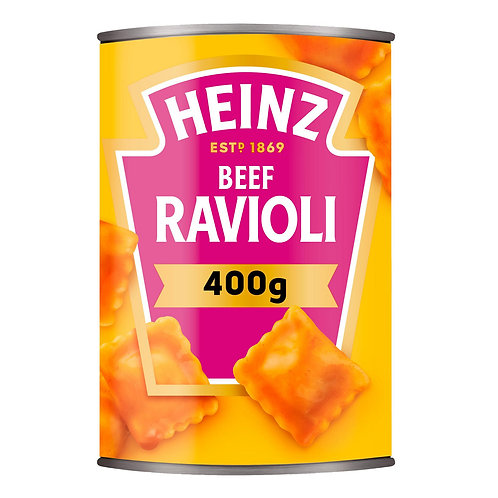 Heinz Ravioli In Tom Sauce 400g  #5149