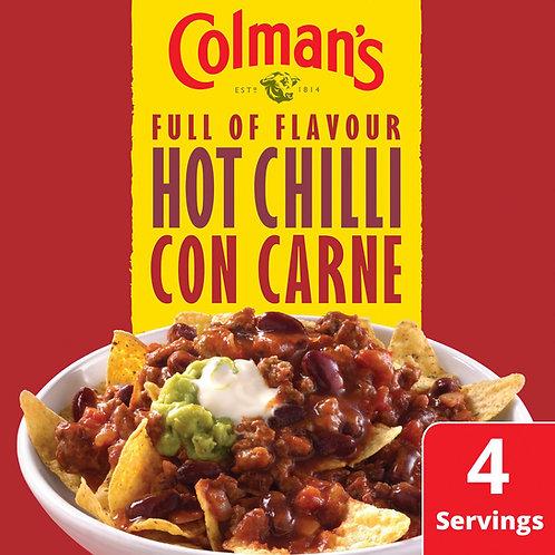Colman's HOT Chilli Con Carne Recipe Mix 37g #81032