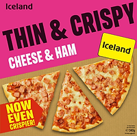 85682_Iceland Thin & Crispy Cheese & Ham Pizza 342g.png
