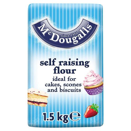 Mcdougalls 1.5kg Self Raising Flour  #72325
