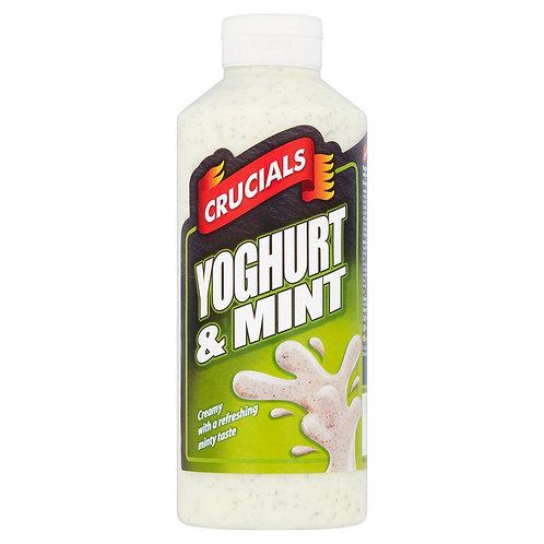 Crucials Yoghurt & Mint Sauce, Dressing, Dip 500ml #63791