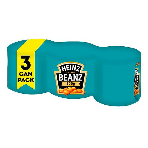 Heinz Baked Beans 3x200g  #4549