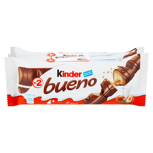 Kinder Bueno Milk and Hazelnuts 3 x 43g (129g)  #49466