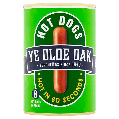Ye Olde Oak 8 Hot Dogs in Brine 400g  #50309