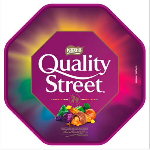Quality Street Chocolate, Toffee and Cremes Tub 650g  #77808