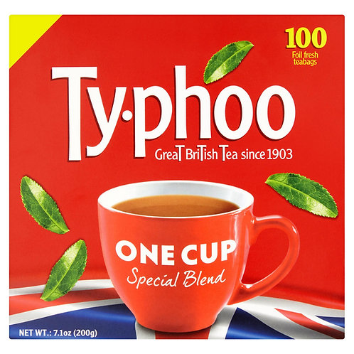 Typhoo One Cup Special Blend 100 Foil Fresh Teabags 200g #81026