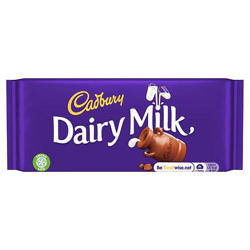 Cadbury 95g. Dairy Milk  #64555