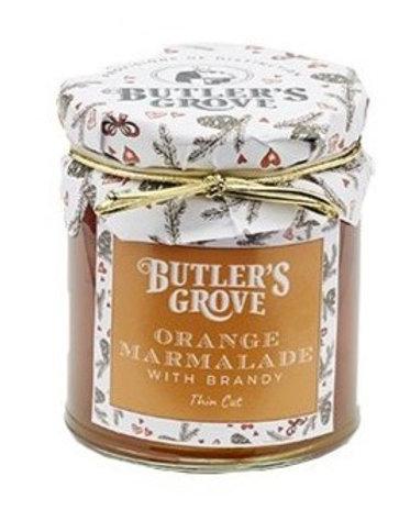 Butler's Grove Orange Marmalade with Brandy Thin Cut 227g #373096545
