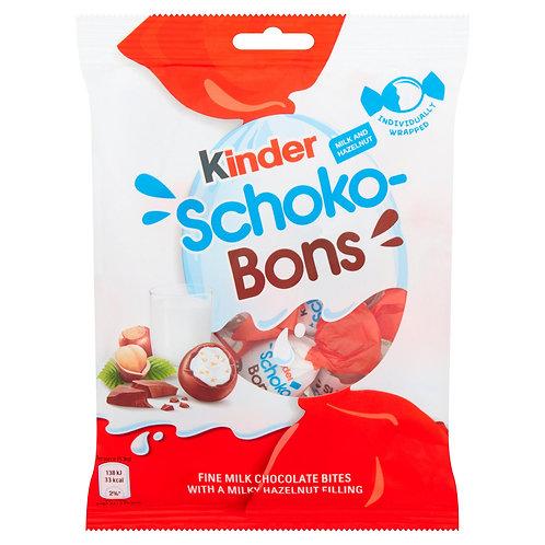 Kinder Schoko-Bons Milk and Hazelnut 69.6g #73903