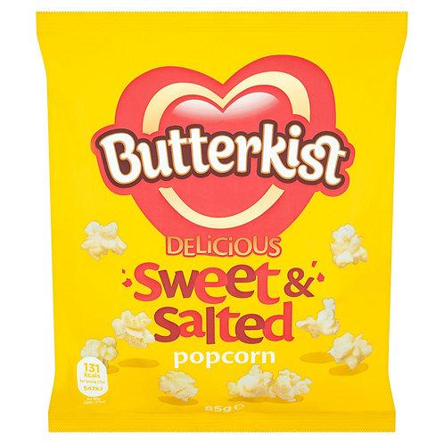 Butterkist 85g Sweet & Salted Popcorn  #72678