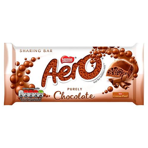 Aero Milk Chocolate Sharing Bar 90g #74695