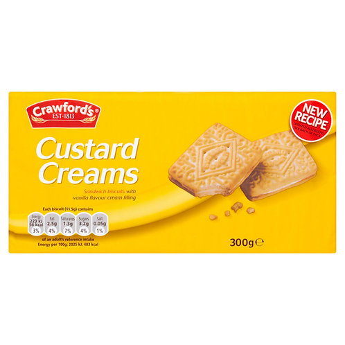Crawford's Custard Creams 300g #53599