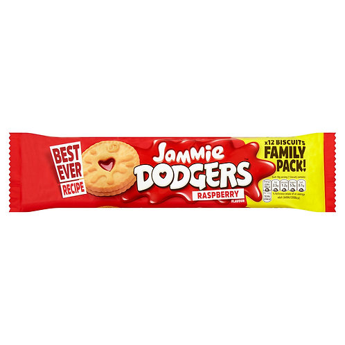 Jammie Dodgers 12 Biscuits Raspberry Flavour 210g #65583