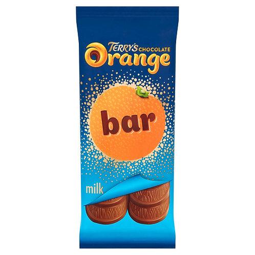 Terry's Chocolate Orange Milk Bar 90g #82580