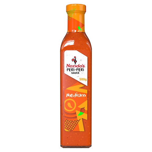 Nando's 500g Medium Peri-Peri Sauce  #59893