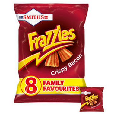 Smiths 8pk Bacon Frazzles  #63555
