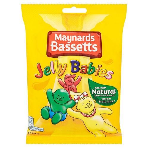 Maynards Bassetts Jelly Babies 165g  #78172