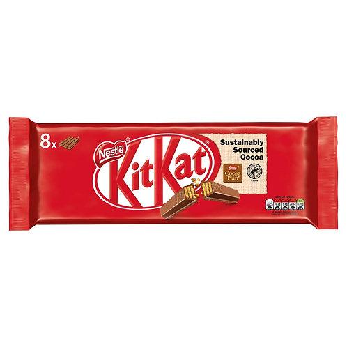 Nestle 4 Finger Kitkat 8pk á 41.5 g  #70589