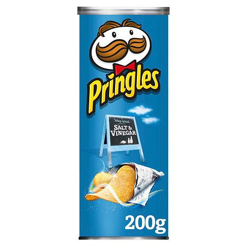 Pringles Salt & Vinegar 200g  #72671