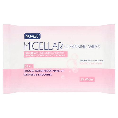 Nuagé Micellar 25 Cleansing Wipes Twin Pack #78736