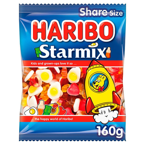 Haribo 190g Starmix  #71072