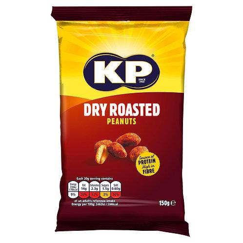 KP 150g Dry Roasted Peanuts  #72645