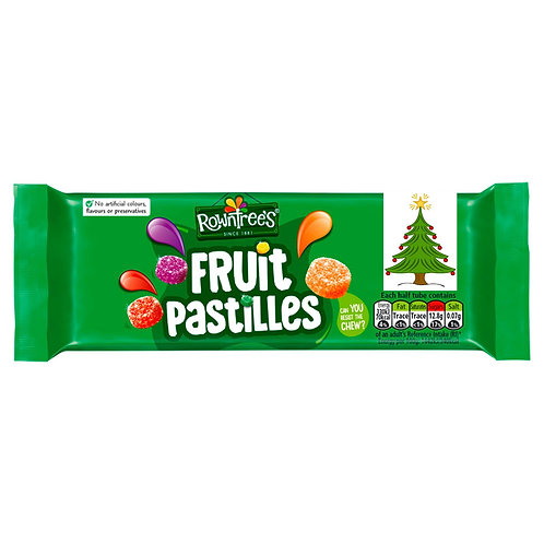 Nestle 3pk Rowntrees Fruit Pastil  #50066