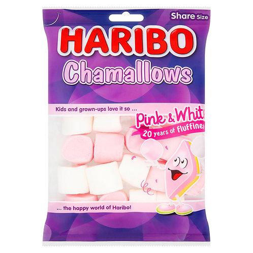 HARIBO Chamallows Pink & White Bag 140g #52528