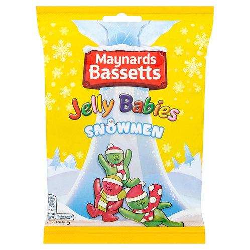 Maynards Basset Snowmen Jelly Babies  # 77846
