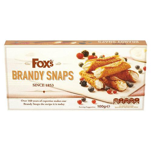 Fox's Brandy Snaps 100g  #34632