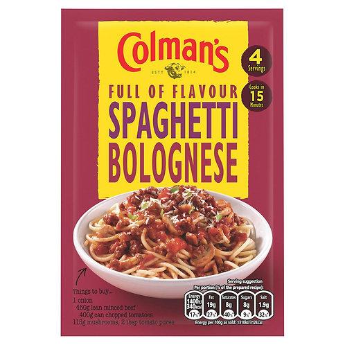 Colman's Spaghetti Bolognese Recipe Mix 44g #76170