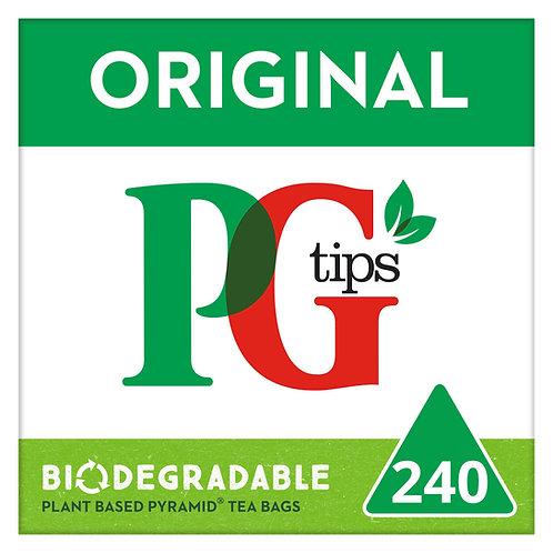 PG Tips 50% Extra Pyramid Tea Bags #28457