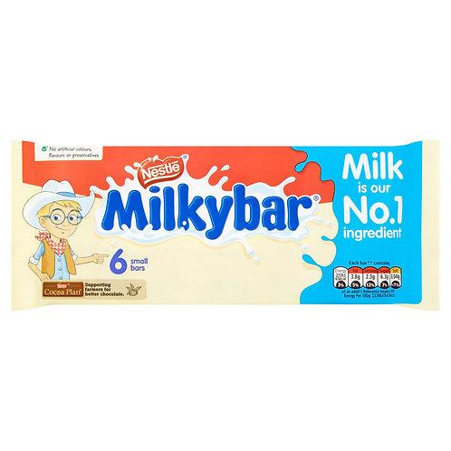 Milkybar White Chocolate Kid Bar Multipack 12g 6 Pack #57560