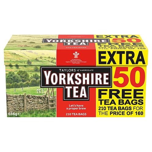 Taylors Yorkshire Tea 160 + 50 poser  #60991