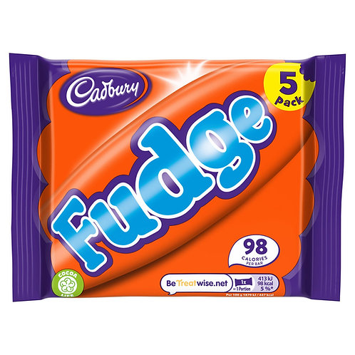 Cadbury Fudge Bar 5 Pack 110g #57205