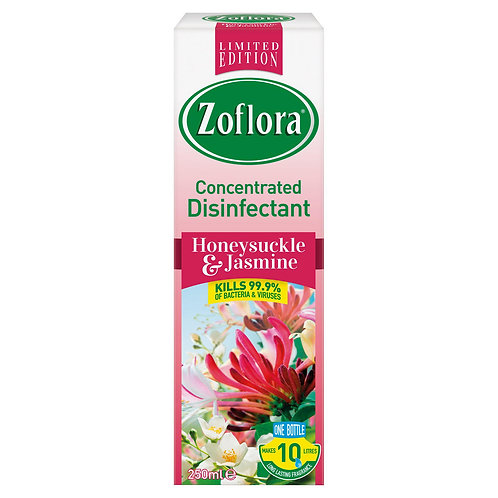 Zoflora 3 in 1 Action Consentrate Disinfectant 250ml /honeysuckle&jasmin  #80955