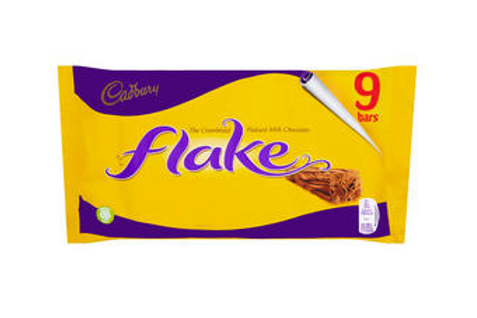 Cadbury Flake Chocolate Bar 9 Pack 180g  #64494