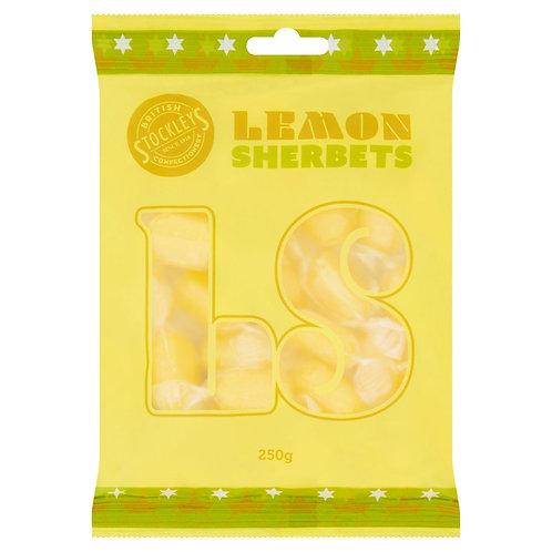 Stockley's Lemon Sherbets 250g  #78786