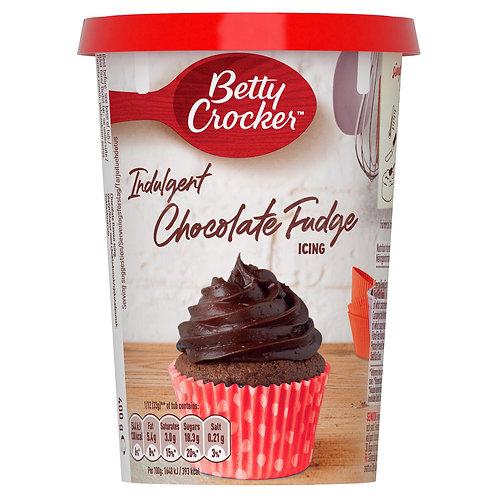 Betty Crocker Indulgent Chocolate Fudge Icing 400g #58794