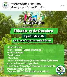 OcupAção Bairros Maranguape