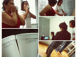 Paulo Kalu e Jane Oliveira se preparam para gravar um novo single!