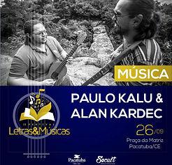 Festival Letras e Músicas 2019