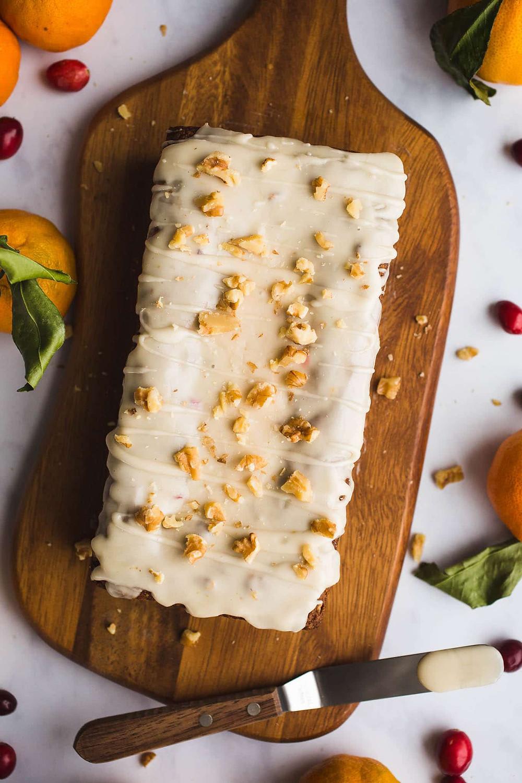 gluten free orange bread