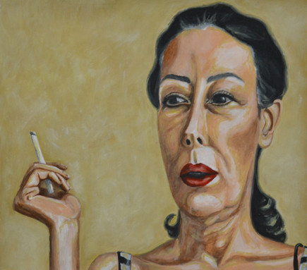 Mother With a Cigarette I